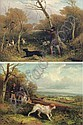 Partridge shooting; and Pheasant shooting, William J. Shayer, Click for value