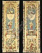 A PAIR OF LOUIS XIV MYTHOLOGICAL GOBELINS TAPESTRY PANELS, Antoine Watteau, Click for value