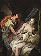 Tarquin and Lucretia , Johann Heinrich Tischbein, Click for value