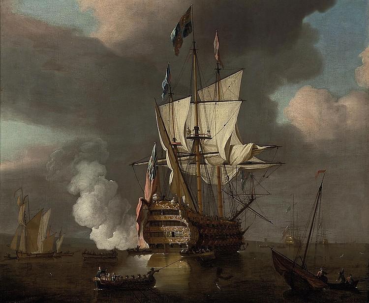 Peter Monamy (London 1681-1749)