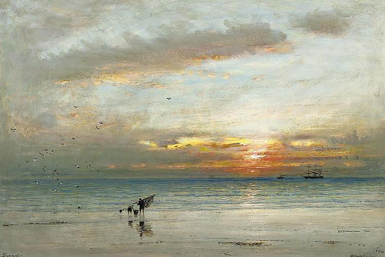 Albert Goodwin, R.W.S. (Maidstone 1845-1932 London)