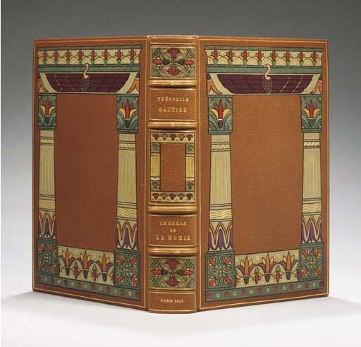 GAUTIER, Théophile (1811-1872). <I>Le roman de la momie. Quarante-deux compositions originales de</I>