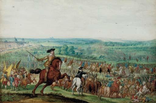 King Gustavus Adolfus of Sweden at the Battle of Lutzen