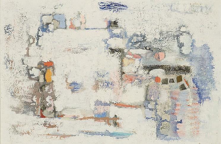 ABDELKADER GUERMAZ (MASCARA, ALGERIE 1919 - 1996 PARIS)