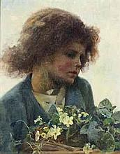 Hector Caffieri (1847-1932)  - The beginnings of spring