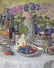 Nikolai Bogdanov-Belsky (1868-1945) On Easter day