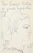 Françoise Gilot (Née en 1921) - Autoportrait