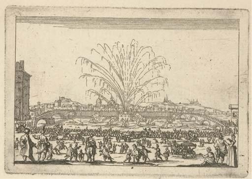 CALLOT, Jacques (1592-1635). <I>Capricci di varie figure di Jacopo Callot. All Ill<SUP>mo</SUP>.</I>