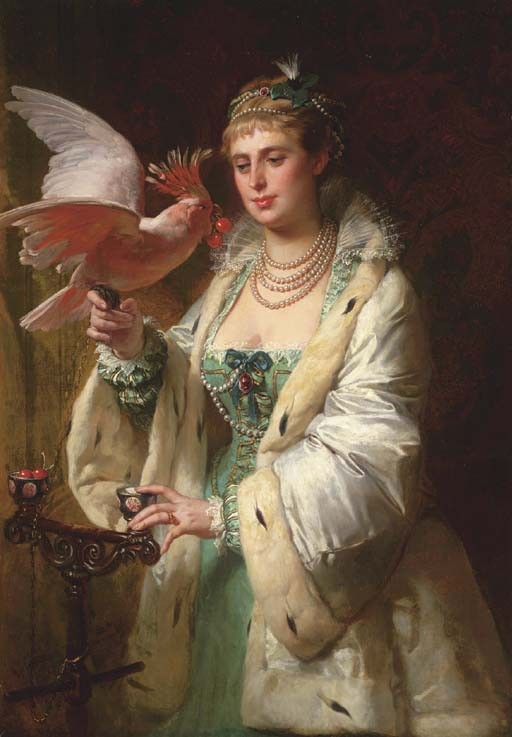 Edouard-Marie-Guillaume Dubufe (French, 1853-1909)