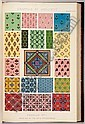 JONES, Owen (1809-1874).  The Grammar of Ornament . London: Day and Son, Lithographers to the Queen, 1856., Owen Jones, Click for value