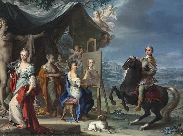 Ignaz Stern (Mauerkirchen, Bavaria 1679-1748 Rome)