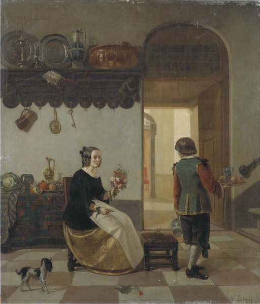 Willem Linnig Sen. (Belgian, 1819-1885)