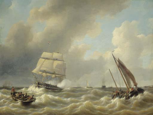 Petrus Johannes Schotel (Dutch, 1808-1865)