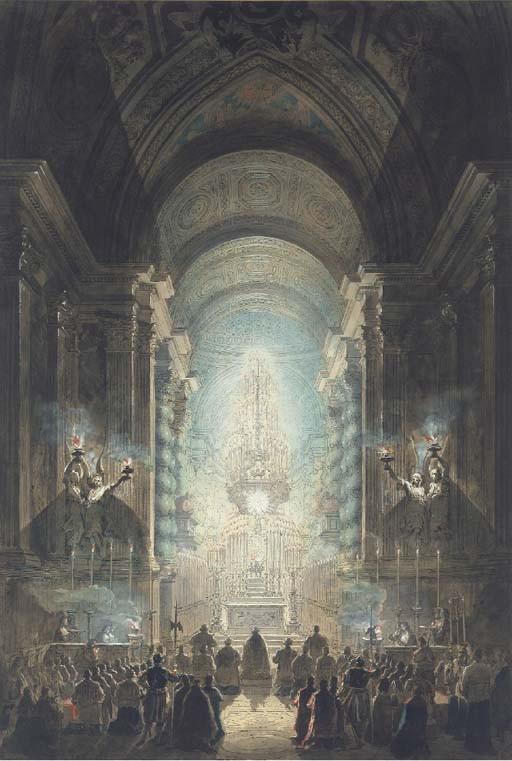 Jean-Louis Desprez (1743-1804) and Francesco Piranesi (1748-1810)