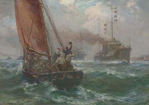 Bernard Finnegan Gribble, R.B.A.,S.M.A. (British, 1873-1962)
