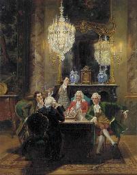 Albert Joseph Franke (German, 1860-1924)