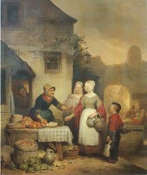 Ferdinand De Braekeleer (Belgian, 1792-1883)