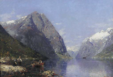 Georg Anton Rasmussen (Norwegian, 1842-1914)