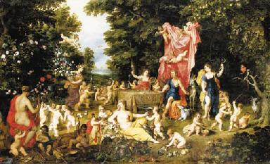 JAN BRUEGHEL I (Brussels 1568-1625 Antwerp) and HENDRICK VAN BALEN I (Antwerp 1575-1632)