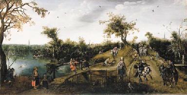 ADRIAEN PIETERSZ. VAN DER VENNE (Delft 1589-1662 The Hague)