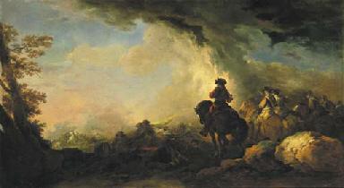 FRANCESCO GIUSEPPE CASANOVA (London 1727-1803 Vienna)