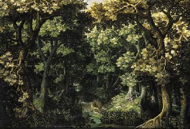 Attributed to David Vinckboons (Malines 1576-1629 Amsterdam) and Alexander Keirincx (Antwerp 1600-c.1652 Amsterdam)