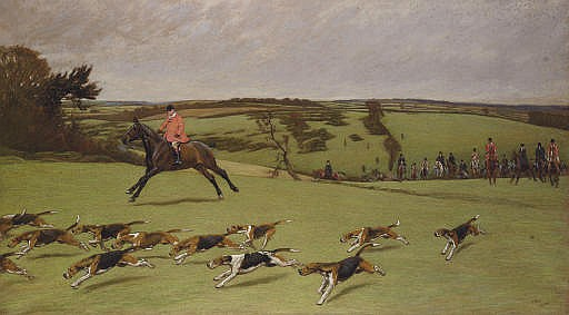 J. Ashton Radcliffe, M.F.H., Hunting with the South Dorset Hunt