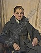 Portrait of an officer of the RAF during World War II , David Jagger, Click for value