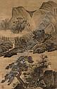 Landscape after Li Tang, Lan Ying, Click for value