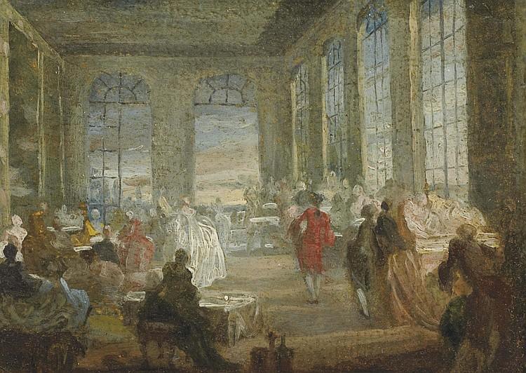 GABRIEL-JACQUES DE SAINT-AUBIN (PARIS 1724-1780 PARIS)