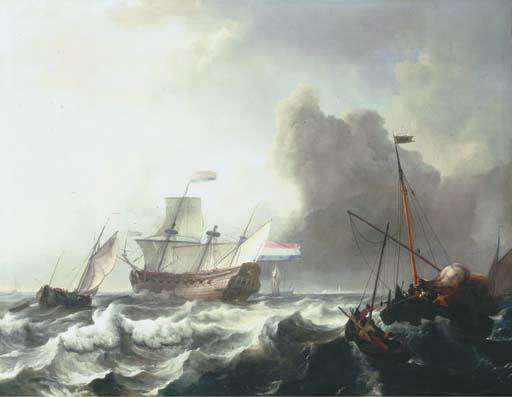 LUDOLF BAKHUYZEN (EMDEN, EAST FRISIA 1631-1708 AMSTERDAM)