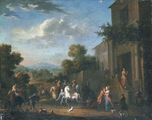 PIETER VAN BREDAEL (ANTWERP 1629-1719)