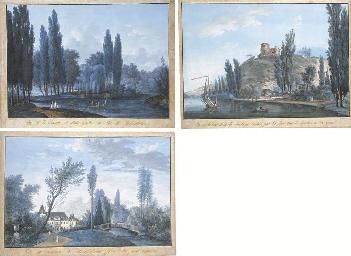 Louis-Gabriel Moreau, called Moreau l'ain' (Paris 1740-1805)