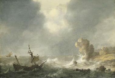 Hendrick Staets (Haarlem, active circa 1630-1660 Leiden?)