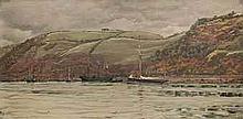 John Brett, A.R.A. (1831-1902) Dartmouth