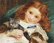 Sophie Anderson (1823-1903)  Best friends