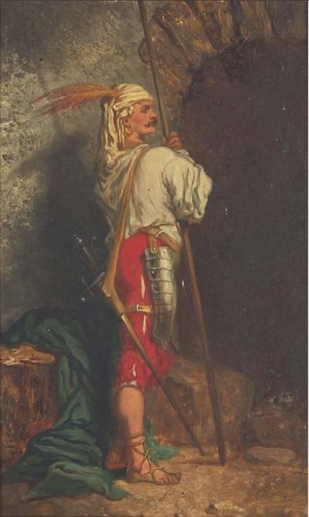ATTRIBUE A LOUIS ABEL-TRUCHET (VERSAILLES 1857-1918)