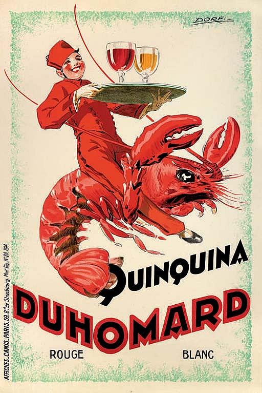 QUINQUINA, DUHOMARD