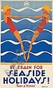 BY TRAIN FOR SEASIDE HOLIDAYS!, Gert Sellheim, Click for value