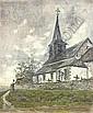 Rural church, Dario de Regoyos, Click for value