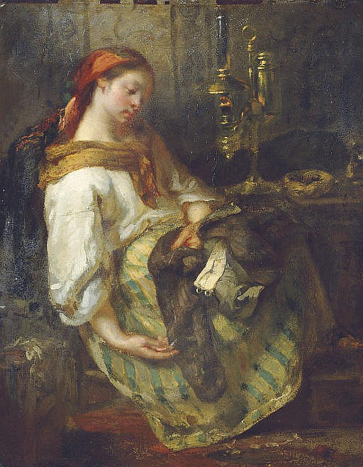 The sleeping seamstress