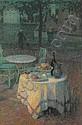 Le café du port , Henri Le Sidaner, Click for value