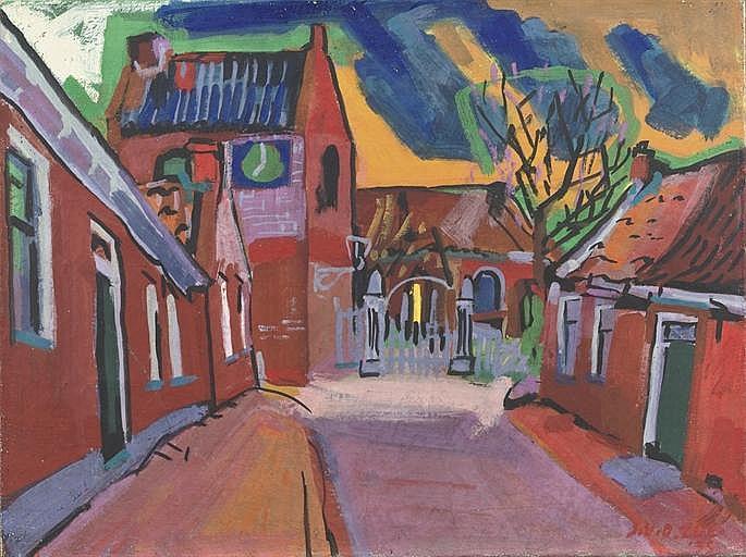 A village street, Ezinge - Groningen