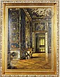 A palatial interior , Fritz Bayerlein, Click for value