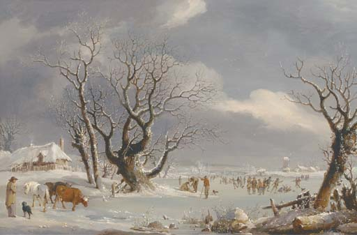 Johannes Pieter van Wisselingh (Dutch, 1812-1899)