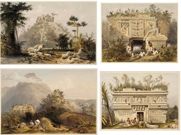 CATHERWOOD, Frederick (1799-1854). <I>Views of Ancient Monuments in Central America, Chiapas and</I>