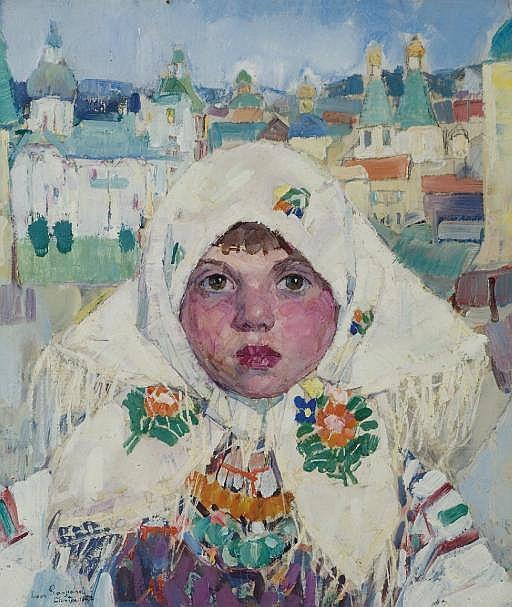 Siberian Cossack Girl