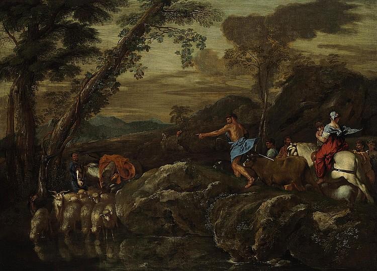Giovanni Benedetto Castiglione, il Grechetto (Genoa 1609-1664 Mantua)