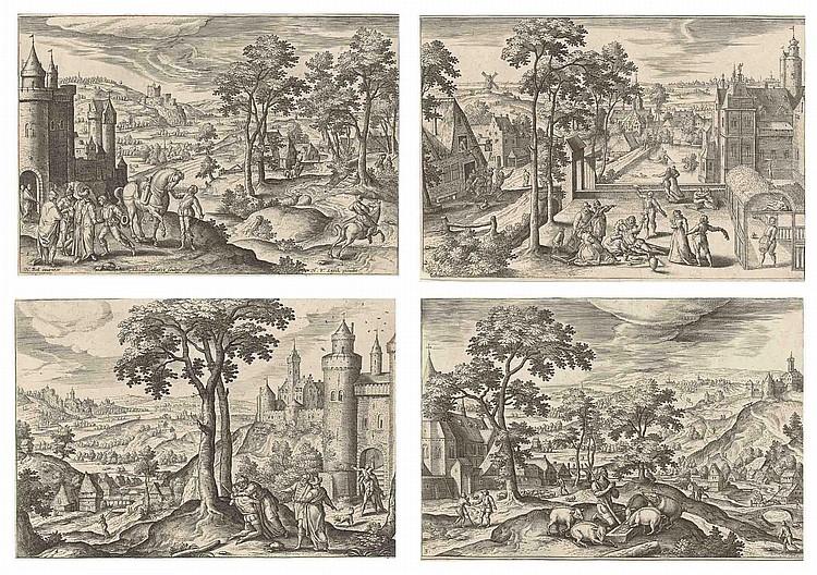 Adrian Collaert ( circa  1560-1618)