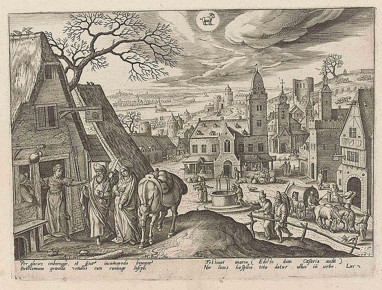 Hans Bol (1534-1593) after Adriaen Collaert ( circa  1560-1618)